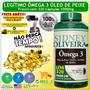 Omega 3 Sidney Oliveira 320 Capsulas 1000mg 100% Oleo Peixe