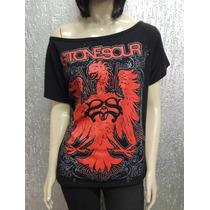 Camiseta Feminina De Banda - Stone Sour