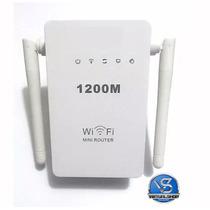 Repetidor De Sinal Wifi Wireless Roteador 2 Antenas 1200mbps