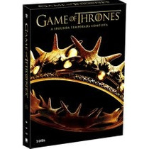 Box Game Of Thrones - 2ª Temporada Original Novo