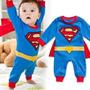 Fantasia Infantil Super Homem Menino Criança Super Man