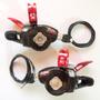 Rapid Fire Trocador Grip Shift Sram X0 Carbon Cover Red 9v