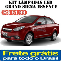 Kit Lampadas Led Fiat Grand Siena - Super Promoçao Anx Leds