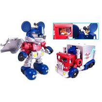 Disney Label Transformers - Mickey Optimus Prime
