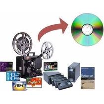 Conversão De Vhs Para Hd Ou Dvd Garantido E Seguro