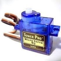 Micro Servo Motor Tower Pro 9g Sg90 Com Acessórios