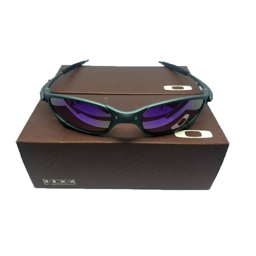 ae156f6bff38f Oculos Oakley Juliet X-metal Roxa + Certificado 12x S juros