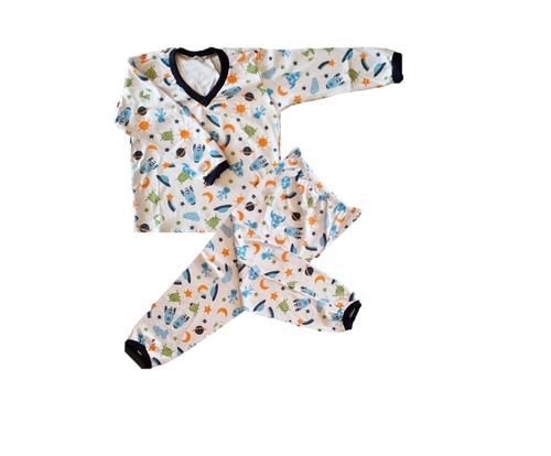 bdac6c628 Kit 05 Pijama Conjunto Menino Infantil Algodão Estampado