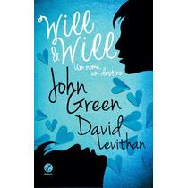 Livro Will & Will Um Nome, Um Destino - John Green