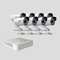 Kit Monitoramento Dvr Stand Alone 8 Canais Jfl 8 Cameras