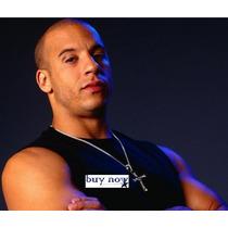 Colar Cordão Cruz - Toretto - Velozes E Furiosos - Crucifixo