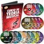 Coleção Curso De Teoria Musical 15 Dvds Frete Grátis