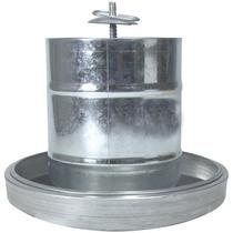 Comedouro Tubular Aves 3kg Prato Aluminio Zatti