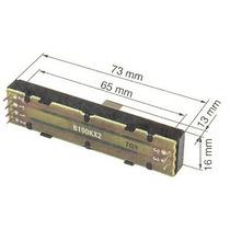 Potenciometro Fader Alpha 100 Kbx2 Mixer Behringer Vmx100
