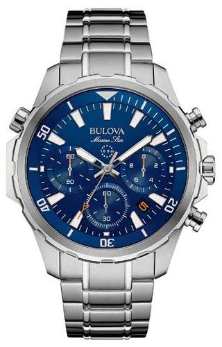 6492b782810 Relógio Bulova Masculino Marine Star 96b256