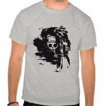 Camiseta One Piece Anime Camisa 100 % Algodão
