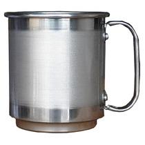 Canecas De Alumínio 400ml Para Sublimação