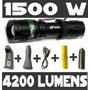 Lanterna Led Cree Q5 Tática Police 1500w 4200 Lumens