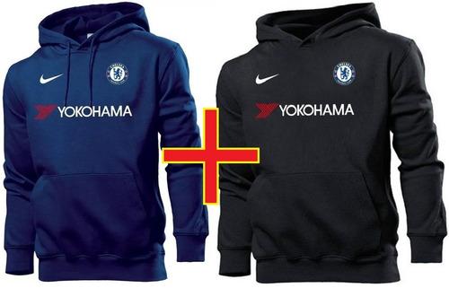 adfccbf39e Kit 2 Blusas Moletom Chelsea Time Futebol Moleton