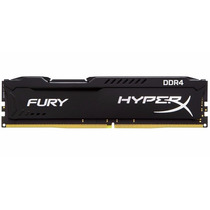 Memória 8gb Ddr4 2400mhz Kingston Hyperx Black Fury