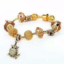 Pulseira Bracelete Pandora Vivara Banhada A Ouro 18k