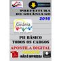 Apostila Concurso Prefeitura Goiania Go Basico Pe I I2016