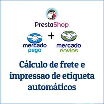Modulo Prestashop Mercado Pago Mercado Envios Calculo Frete