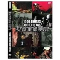 Dvd Racionais 1000 Trutas 1000 Tretas