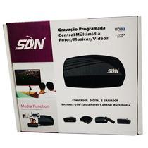 Conversor Receptor De Sinal Tv Digital Hd Hdmi Full Hd Usb
