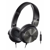 Fone Philips Com Microfone Preto - 107 Db/mw - Shl3165bk/00