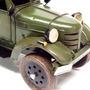 Miniatura Caminhão De Transporte De Armas Exército Latão