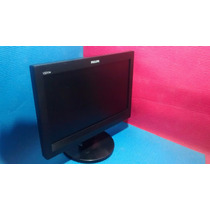 Monitor Lcd 15 Pol. Widescreen Philips ( 100% C/ Garantia)