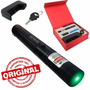 Laser Pointer Verde 8000mw Acende Fósforo C/ Chave Seg+forte