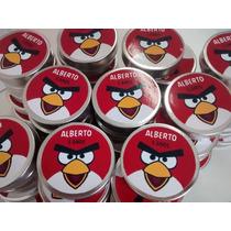 20 Latinha Personalizadas Angry Birds P/ Lembrancinha - 0,79