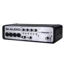 M-audio M Track Quad Só No Territorio Dos Djs