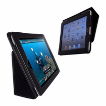 Capa Book Case Couro Apple Ipad 2 3 4 Retina 9.7 Inclinável