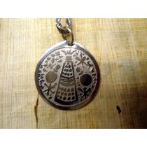 Pingente Medalha Xaxará De Obaluaê Omolu Xapanã Orixás