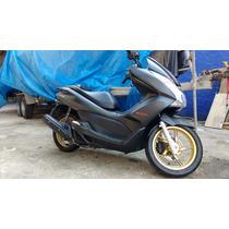 Honda Pcx 150 Dlx 2015 Moto Slink Preto Fosco