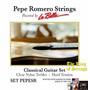 Encordoamento (cordas) P/ Violão La Bella Pepe Romero Pepesr
