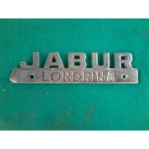 Emblema Concessionária Caminhão Jabur Londrina