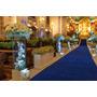 Passarela Tapete Azul Para Casamento, Festas 20 Metros