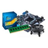 Kit I5 Placa 1156 + Processador I5 650 + 4 Gb Ddr3  + Cooler