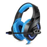 Fone De Ouvido Gamer Onikuma K1-b Black E Blue
