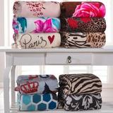 Manta Kit 6 Cobertores Casal Micro Fibra + Brinde (promoção)