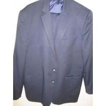 Terno Azul Marinho Escuro Leve Dillards Imp Original
