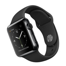 Apple Watch Space Black Stainless Steel 42mm Sport Band Novo