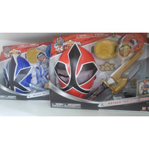 Power Ranger Samurai Training Gear Agua E Fogo - Bandai.