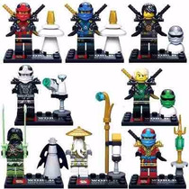 Kit 8 Minifigures Ninjago Thunder