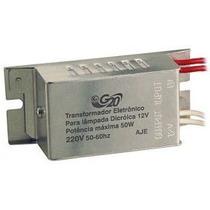 Transformador Eletrônico P/ Lâmpada Dicróica 50w 127v Dimeri