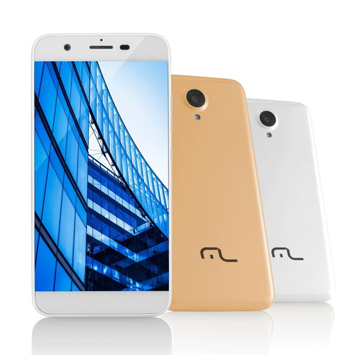 Smartphone Ms50 4g Câmera 8 Mp + 5 Mp Quad Core 1gb Ram Bran